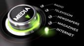 Werbekampagne, Massen-Medien