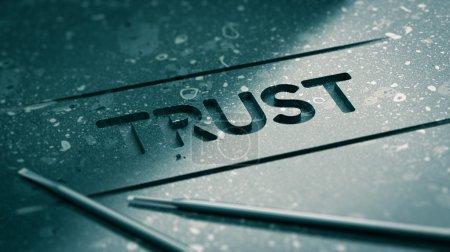 Word Trust Concept