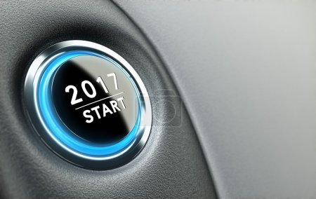 Year 2017 Start Button