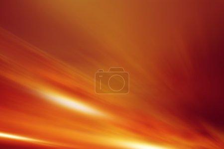 Reddish Flames Background Illustration