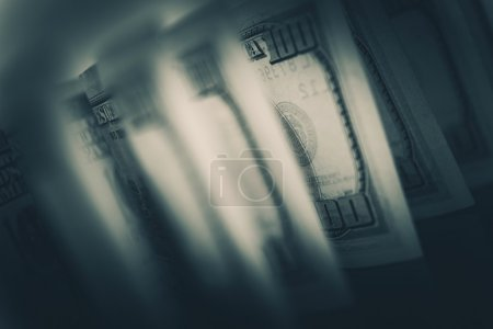 Photo for American Dollars Financial Photo Concept. Banking and Trading. - Royalty Free Image