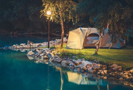 Tenting on the Lake