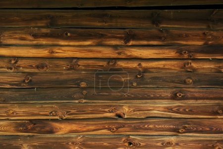 Photo for Aged Wood Planks Photo Backdrop. Old Wooden Wall. - Royalty Free Image