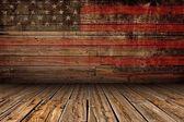 """Постер, картина, фотообои """"деревянные Американский этап"""""""