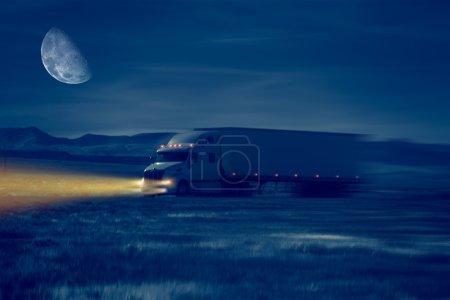 Night Truck Drive