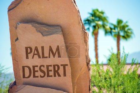 Signe de Pierre Palm Desert