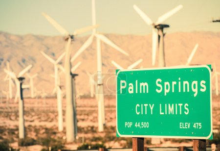 Palm Springs City Limits