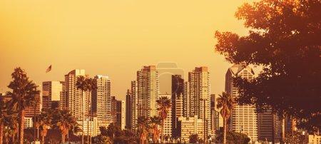 San Diego Sunset Panorama