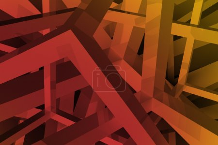 Abstract Geometric Backdrop