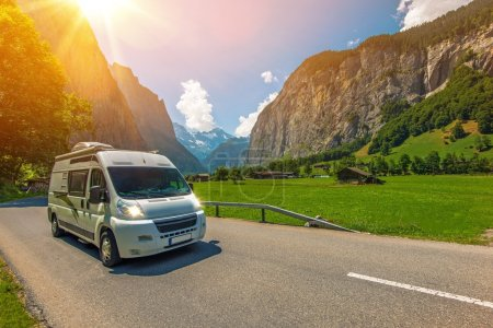 Class B Camper Van in European Jungfrau Region in ...