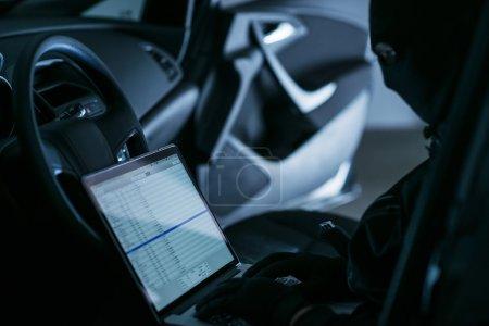 Hacker in a Car