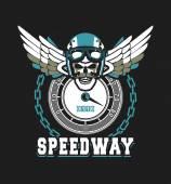 Biker Skull Emblem