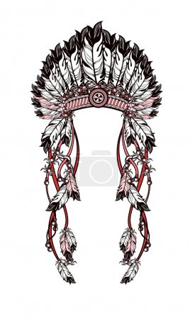 feather headdress Indians