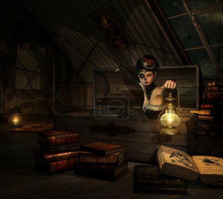 In my Attic, 3d CG