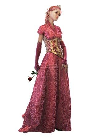 Fairytale Princess, 3d CG CA