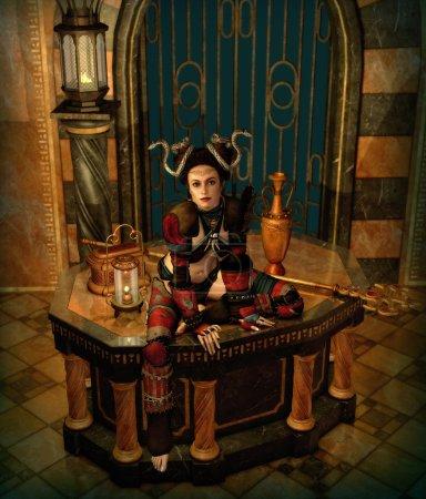 On the Altar, 3d CG