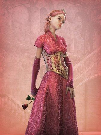 Fairytale Princess, 3d CG