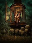 A Secret Elven Place, 3d CG