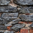 The Old Stone Wall Texture in color...