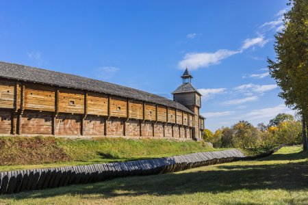 Baturin Fortress, Ukraine