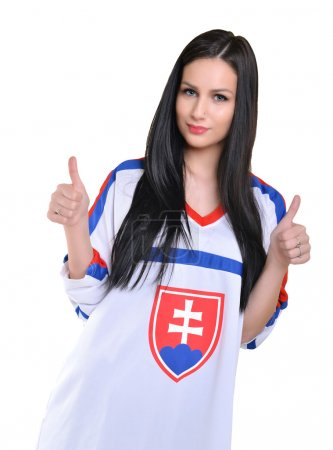 Slovakian female Fan