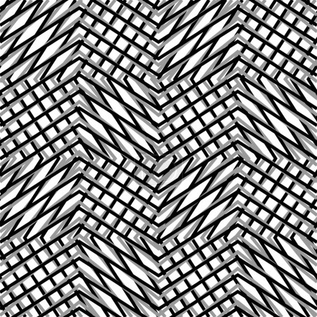 Zigzag, edgy lines background