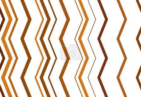 Illustration pour Ondulé, ridé, ondulé, zig-zag, lignes croisées motif géométrique coloré abstrait, fond, texture ou toile de fond - image libre de droit