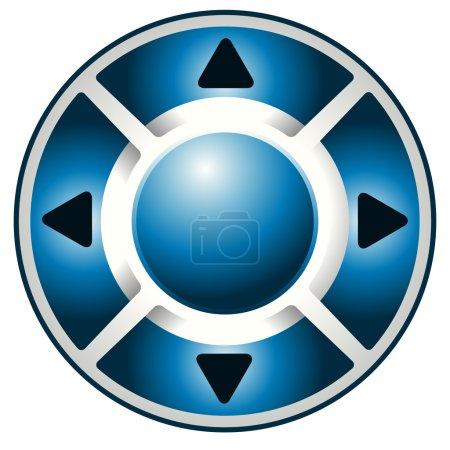 remote controller media button