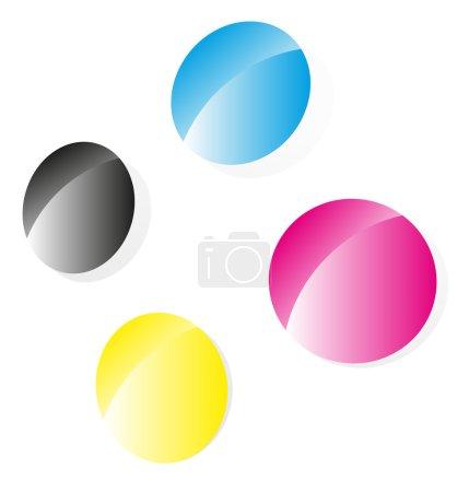 Press, printing themes symbols