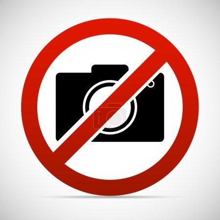 no photo, prohibition icon