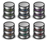 Database graphics icons