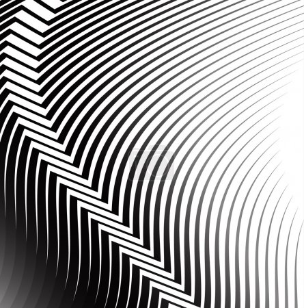 abstract lines pattern