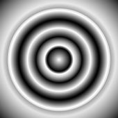 Black and white radial element