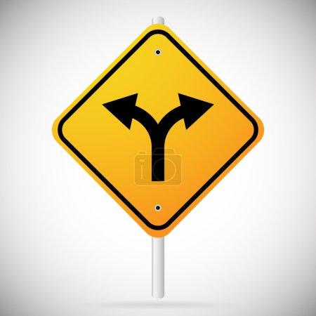 Junction Road Sign