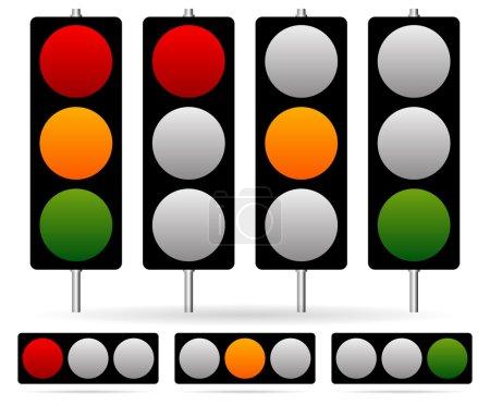 Traffic Lamp set.