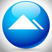 Eps 10 Vector Illustration of a Mountain Peek Icon
