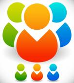 Colorful Characters Icon