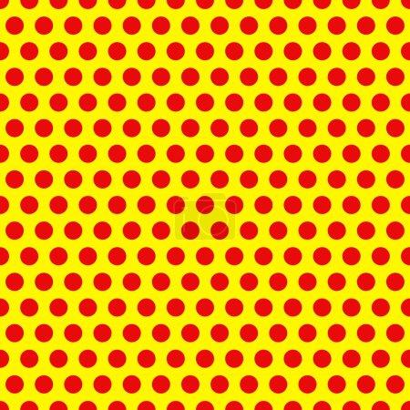 Illustration pour Dotée, Pop Art Background, Pop Art Pattern. Contexte symbolique de l'art des années 1960 . - image libre de droit