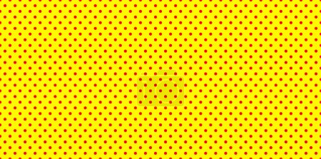 Illustration for Dotted, Pop Art Background, Pop Art Pattern. Symbolic Background of Art of 1960s. - Royalty Free Image