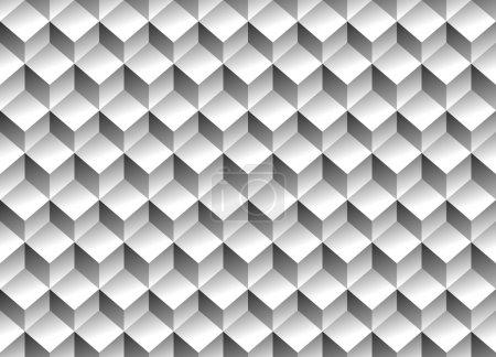 Cubes minimal, repeatable pattern