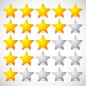 5 star star rating element