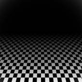 Checkered plane with perspective