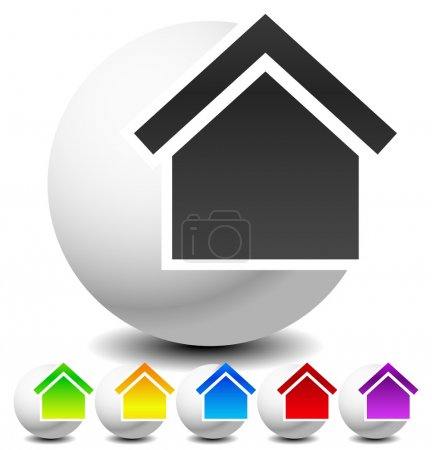 Icon for house, apartment