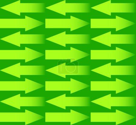 Repeatable arrows pattern