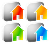 Icons  for house apartment rent home homepage housing concepts