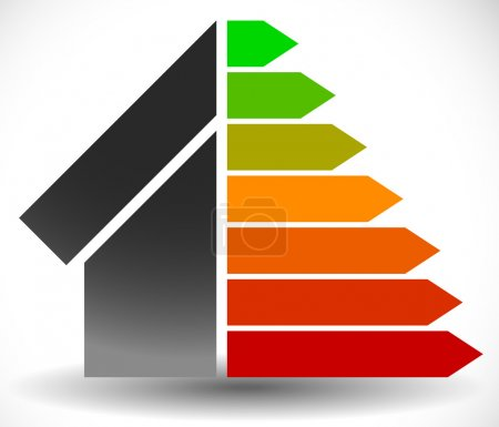 House with Energy Rating Sign