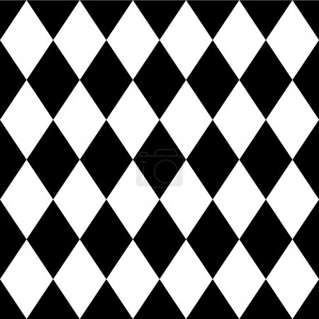 Tilted, diagonal squares, rhombus pattern. vector ...