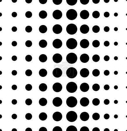 Dotted, dots seamless pattern