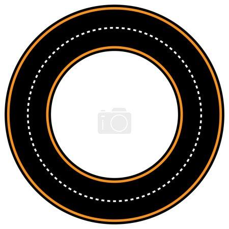 circle track, race track