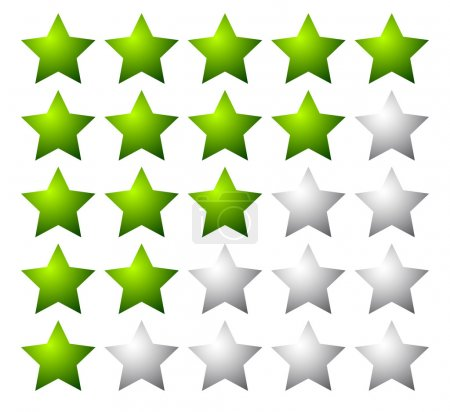 5 stars rating elements